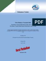 Dokumen Teknis Peta Bahaya Tsunami Bali