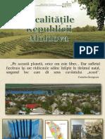 Localităţile Republicii Moldova [Resursă electronică]