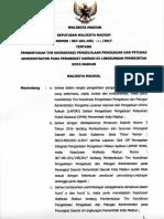 SK Walikota Madiun Tim Pengelolaan Pengaduan