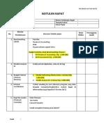 MoM Klarifikasi Budget Finance 301018