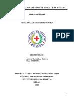 Struktur Organisasi Komite Pmkp Di Rs Kelas c