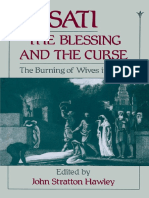Sati, The Blessing and the Curse the Burning of Wives in India