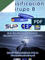 #ReclasificacionGrupoB
