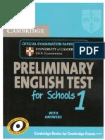 Cambridge Preliminary English Test for Schools 1 [Book].pdf
