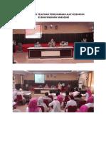Dokumentasi Pelatihan Pemeliharaan Alat Medis Rs Bhayangkara Makassar