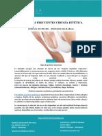 PREGUNTAS FRECUENTES CIRUGÍA ESTÉTICA CIRUGÍA DE PECHO – PRÓTESIS MAMARIAS