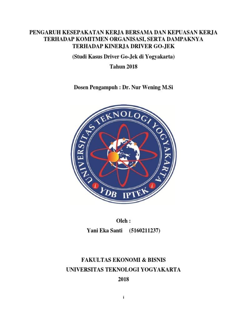 Draft Proposal Msdm Gojek