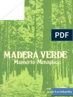 LIBRO Madera Verde - Mamerto Menapace
