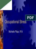 Occupational Stress 508