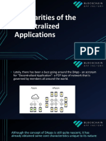 Peculiarities of the Decentralized Applications