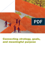 Connecting Strategy Goals and Meaningful Purpose Introduction