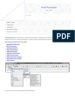 Post Processor