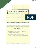 HUKUM ISLAM 6 - SUMBER HUKUM ISLAM 1.pdf