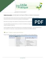 SAGE GSCOMI7 Projets d Affaires