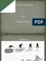 Tugas Biologi - Evolusi