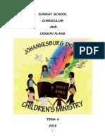 Term 4 Sunday School Curriculum 2018 1