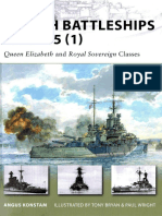 British Battleships 1939-45 (1) - Queen Elizabeth and Royal Sovereign Classes