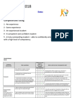 skills audit worksheet