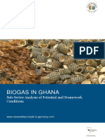 BIOGAS in GHANA Subsector Analysis Biogas