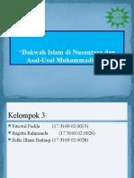 3. DAKWAH ISLAM DI NUSANTARA DAN ASAL USUL MUHAMMADIYAH.pptx