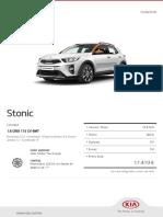 Kia Configurator Stonic Concept 20180810