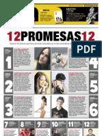 12 promesas - El Comercio