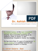 Dr. Ashish Sadana - Best Laparoscopic/General Surgeon in Dwarka
