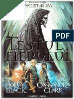 Holly Black & Cassandra Clare - Magisterium 01 - Testul fierului .pdf