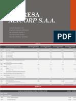 EMPRESA Alicorp Analisis de Decisiones