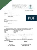 Surat Peminjaman Alat To