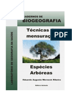 Técnicas de mensuração de espécies arbóreas