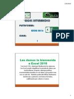 Excel Intermedio 1