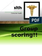 Cosumer Health