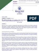 Case of Valmores v. Dr. Achacoso Et Al. G.R. No. 217453