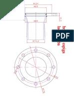Brida Con Espiga Lado Bomba de Tanque Para Grasa Model (1)