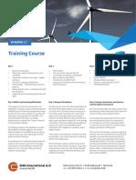 Training Course wind