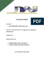 FLUJO de FLUIDOS Monografia Casi Complet