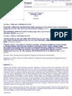 Case of PCIB vs. Hon Venicio Escolin G.R. No. L 27860 and L 27896