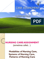 167553551 Methods of Nursing Assignment