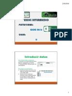 Excel Intermedio CII