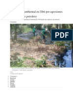 Problematica Ambiental Colombia