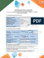 Guia de Actividades Etapa 2-PDR