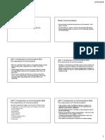 Lecture 1 Effective Communication