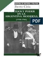 Ciria Alberto - Partidos Y Poder En La Argentina Moderna.pdf