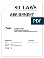 Land Law Assignment