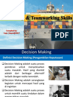 Leadership & Teamworking Series_the Decision Making  (BAHASA INDONESIA)