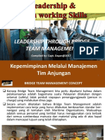 Leadership & Teamworking Series_Leadership Through Bridge Team Management (BAHASA INDONESIA)