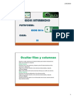 Excel Intermedio CIII