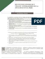 RLE 01 1 Factores Socieconomicos y Socioculturales Generadores de La Criminalidad en El Peru