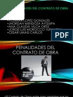 Penalidades Del Contrato de Obra